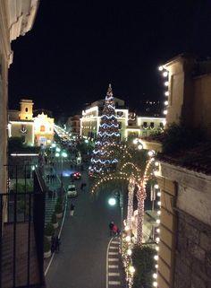 Alessandra's balcony view!