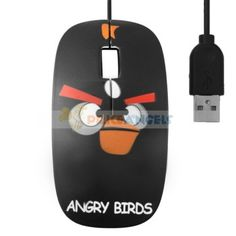 Optical Mouse - Angry Birds - FC-5086 http://marketkonekt.com/mk/optical-mouse-angry-birds-fc-5086?productid=Y36