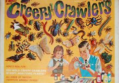 Mattel's 1960s toy Creepy Crawlers became the hot toy fad 50 years ago. reminisce.com