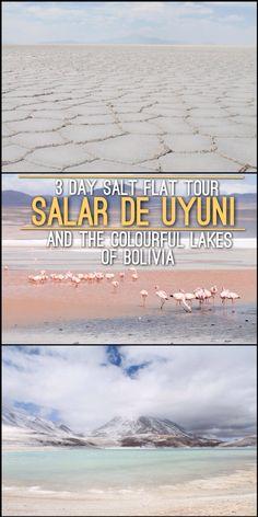 The best tour in Bolivia - Salar de Uyuni and the Colourful Lakes. Read More: http://mismatchedpassports.com/2016/02/04/3-day-salt-flat-tour-salar-de-uyuni-colourful-lakes-bolivia/ #travel #Bolivia
