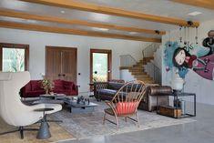 Un blog de decoración a mi manera... : Una casa de campo moderna y mucho más...
