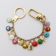Louis Vuitton Porte Cles Pastilles Other Multi-Color Metallic M65380