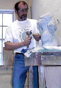 How to carve marble, limestone, soapstone and alabaster sculptures