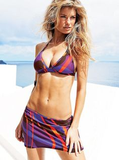 Want a flat, sexy set of abs? Here's the ultimate step-by-step blueprint of how to get there. (Step Sport Six Packs) Sports Illustrated, Marisa Miller Hot, Best Abdominal Exercises, Ab Exercises, Ab Workouts, Cardio, Victoria's Secret, Fit Girl Motivation, Workout Motivation