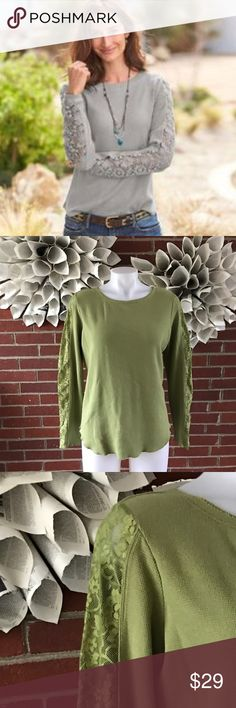 Sundance Canyon Creek Long Sleeve Thermal Please see photos for all measure! First photo shows fit (catalog photo).. this Blouse is Green in color. Sorry I do not model/trade!! This item comes from a smoke free, pet friendly home!! No rips, holes or stains to note!! I ship Monday-Friday to ensure quick delivery (orders placed after 7am will not be processed until the following day). Orders placed Saturday/Sunday will not be processed until Monday morning :)! Thanks for shopping my closet…