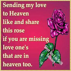 Share and Like for Your Missing Love Ones