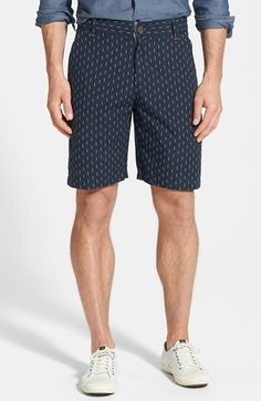 Navy Print Shorts by Gibson. Buy for $46 from Nordstrom