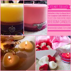 I love to buy candles, but there are many that end up being very disappointing. Big Candles, Pillar Candles, Candle Jars, Paraffin Candles, Candle Maker, Candlemaking, Tea Lights, Sunday Morning, Coupon