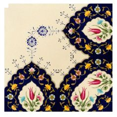 Islamic Art Pattern, Pattern Art, Islamic Calligraphy, Caligraphy, Arabesque, Floral Artwork, Design Crafts, Artsy, Miniatures