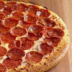 Pepperoni Pizza - http://grandmotherskitchen.org/recipes/homemade-pepperoni-pizza-.html