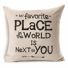 Patterned Cotton Linen Throw Pillow Cushion Cover