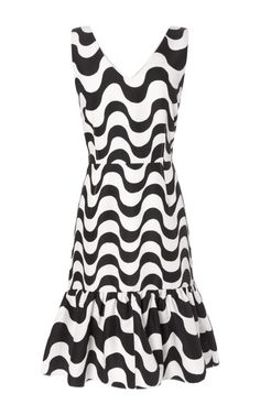 Shop Carmen Copacabana Print Ruffle Dress by Clements Ribeiro for Preorder on Moda Operandi