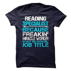 Reading Specialist T Shirts, Hoodie. Shopping Online Now ==►…