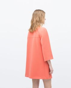 Image 4 of BELL SLEEVE COAT from Zara