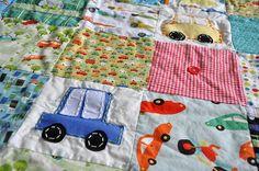 cute car quilt