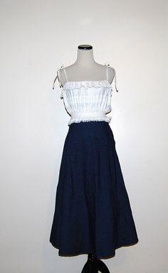 Rockabilly Swing Skirt by CheekyVintageCloset on Etsy, $16.00