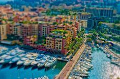 Monaco Tilt-Shift by Guillermo Herrera, via 500px