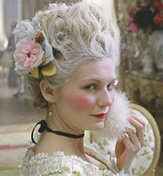 Love Marie Antoinette Kirsten Dunst I watched this movie and it was my Halloween costume inspiration :-)