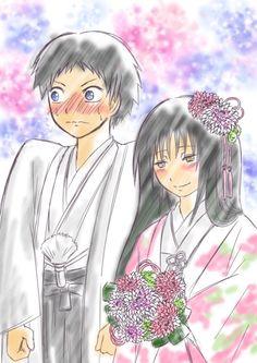 ANSATSU KYOUSHITSU/ASSASSINATION CLASSROOM, Fan Art, Sugino Tomohito, Kanzaki Yukiko, Wedding Suit
