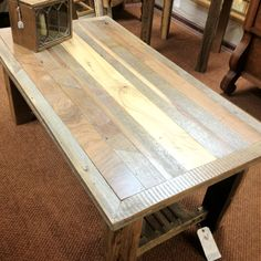 Table out of barn wood