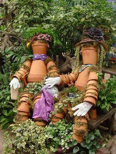 Childish Garden Decor - DIY: Interesting Childish Ornaments