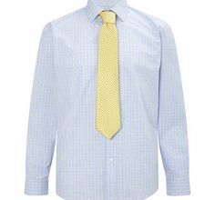 Bhs Blue Yellow Price of Wales Check Tailored Shirt, This tailored fit light blue with subtle yellow prince of wales check shirt is the perfect addition to any wardrobe and looks great with our navy and white spot yellow tie. 60% Cotton,40% Polyester. M http://www.comparestoreprices.co.uk/mens-clothing-accessories/bhs-blue-yellow-price-of-wales-check-tailored-shirt-.asp