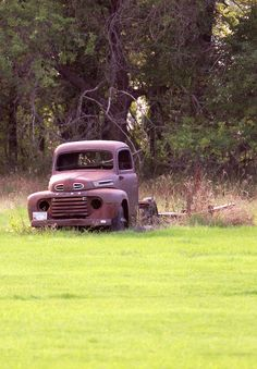 Old Ford in North Dakota Photography by Lynne King
