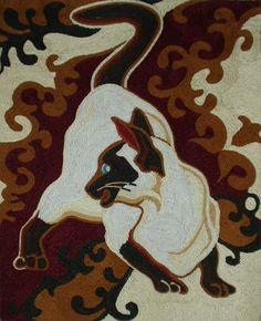 Картины из ниток – ниткография - вид изобразительного искусства, использующий в качестве основных изобразительных средств линии, штрихи...