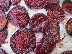 Dang It Delicious: Roasted Beet Chips