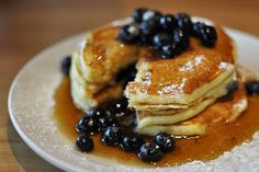 Featuring pancakes, eggs, bacon, and more, here are our picks for where to find the best brunch in the West End. West End, Vancouver, Pancakes, Bacon, Brunch, Dishes, Eat, Breakfast, Food