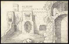 Carew Castle, Pembrokeshire (George Cuitt Junior).