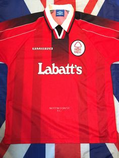 A personal favourite from my Etsy shop https://www.etsy.com/uk/listing/270353441/vintage-1996-1997-nottingham-forest-home