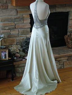 Wedding dress 1930s vintage inspired by RetroVintageWeddings, $535.00