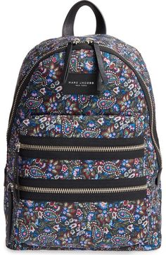 The perfect paisley print backpack for any and every event