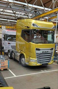 Assembly Line, New Trucks, Transportation, Om, Cars, Vehicles, Storage, Trucks, Commercial Vehicle