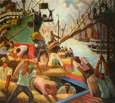 Painter: Quinquela Martin. Benito -Argentina
