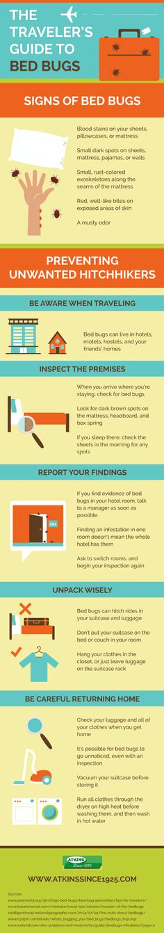 Traveling is awesome! Bed bugs are not. Take a look at this infographic about pest control services in Columbia to get some tips for keeping bed bugs away when traveling to different cities, states, and countries.