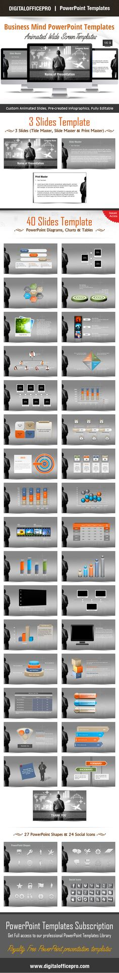 Impress and Engage your audience with Business Mind PowerPoint Template and Business Mind PowerPoint Backgrounds from DigitalOfficePro. Each template comes with a set of PowerPoint Diagrams, Charts & Shapes and are available for instant download.