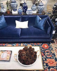 "2,033 Likes, 24 Comments - Ballard Designs (@ballarddesigns) on Instagram: """"I love this fresh and festive take on blue and white in the @ballarddesignscharlotte store. I…"""