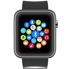 $46.85 (Buy here: alitems.com/... ) Relojes Smartwach Bluetooth Smart Watch Men WristWatch sport digital-watches IOS Android phone Wearable Electronic Device Montre for just $46.85