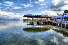 Restaurant  near lake Ohrid (Pogradec)