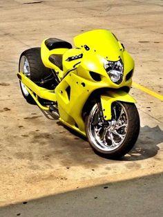 Custom Street Bikes, Custom Sport Bikes, Custom Motorcycles, Custom Hayabusa, Stunt Bike, Custom Paint Jobs, Hot Bikes, Super Bikes, Art And Technology
