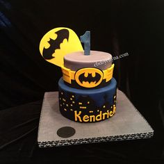 batman birthday cake 3 tiers - Google-Suche