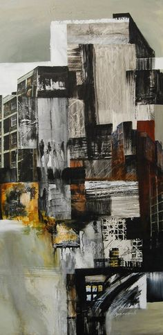A Level Art - karen beneditti. a city point of view, mixed media on canvas Mixed Media Photography, Art Photography, Artistic Photography, Collage Kunst, City Collage, Urbane Kunst, A Level Art, Mixed Media Canvas, Collage Art Mixed Media