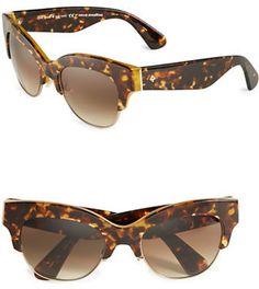 Kate Spade New York 53MM Nikki Cats-Eye Sunglasses - $155.00