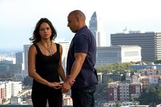 Letty & Dom- Furious 7