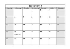 Printable  Yearly Calendar Template  Calendar