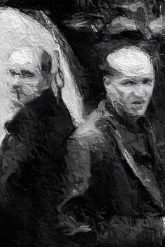 Biki digital painting from Tarkovsky Stalker theme
