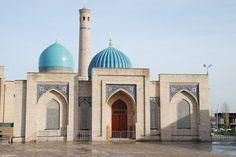 La Mezquita Teleshayakh, en Tashkent, Uzbekistán. #tashkent #uzbekistan #mezquita #mosque #asia #takemysecrets