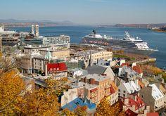 Quebec City, fall foliage...